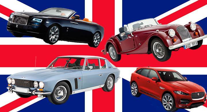Bildquiz: Brittiska bilar