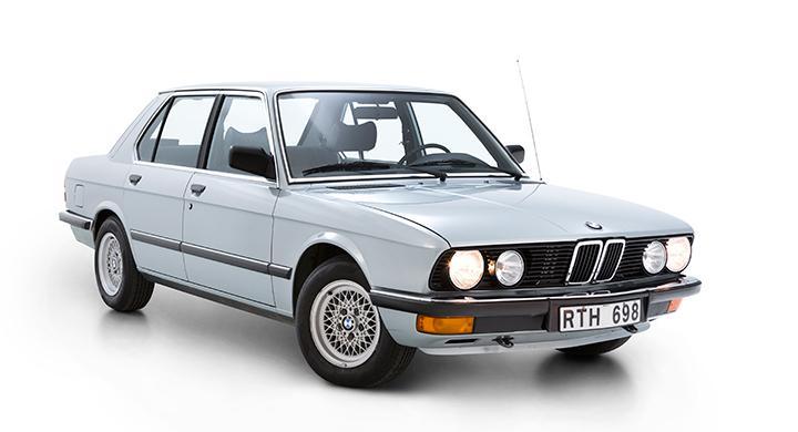 Klassikern: BMW 5-serie