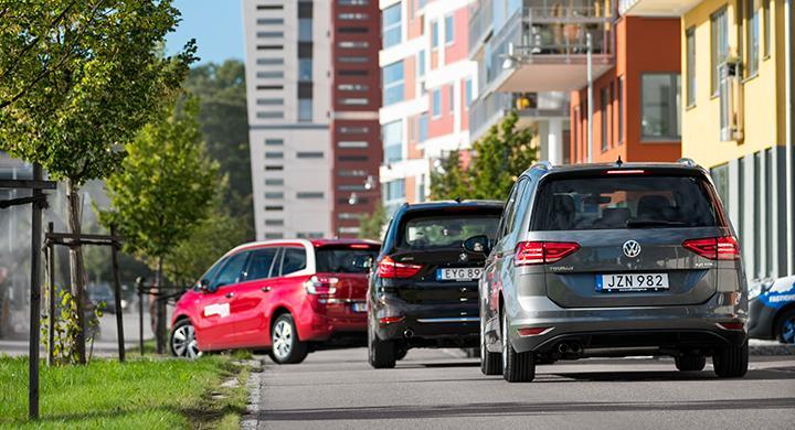 Ljustest: Volkswagen Touran, BMW Gran Tourer, Citroën Grand C4 Picasso