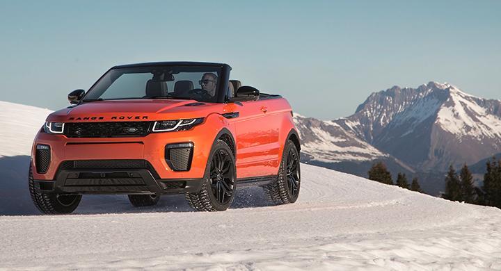 Range Rover Evoque har blivit taklös.