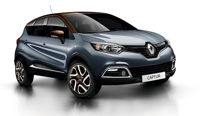 Renault Captur sköter däcktrycksövervakning via ABS-systemet.