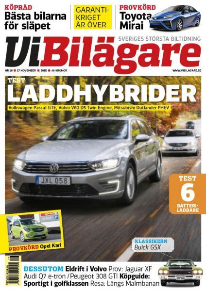 Vi Bilägare 16/2015 - nytt nummer