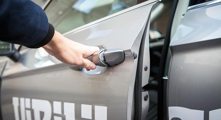 Vår VW har fått nya lås – i förebyggande syfte.