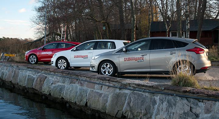 Test: Opel Astra, Volkswagen Golf, Ford Focus