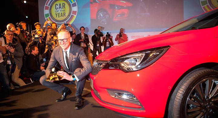 Årets Bil 2016 ger extra PR till Opel