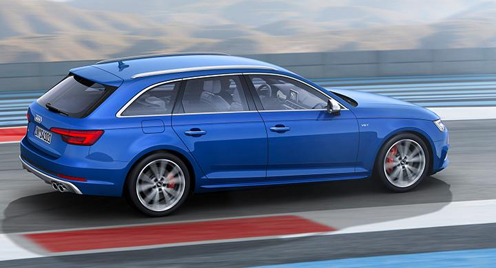 Audi S4 Avant.