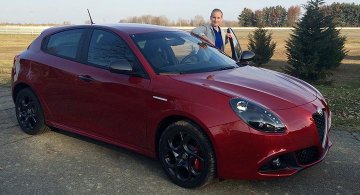 Direktrapport: Alfa Romeo Giulietta