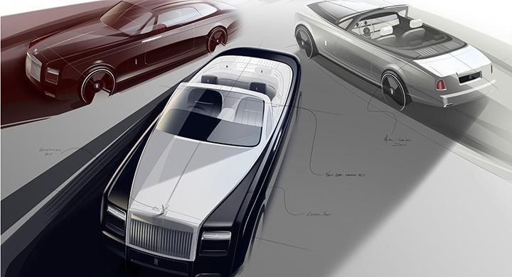 Phantom VII tas ur produktion