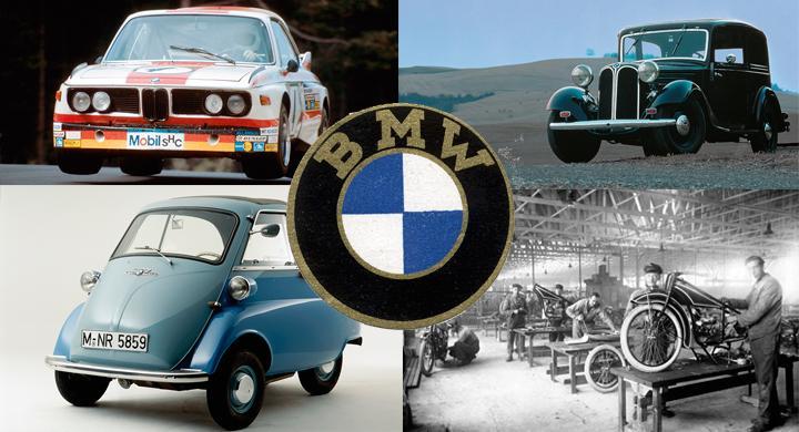 BMW: 100 år i bilder
