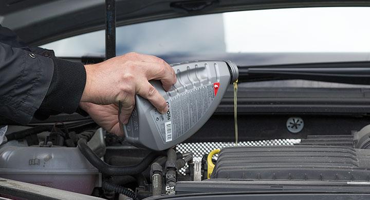 Fem år är gränsfall för lagring av motorolja.