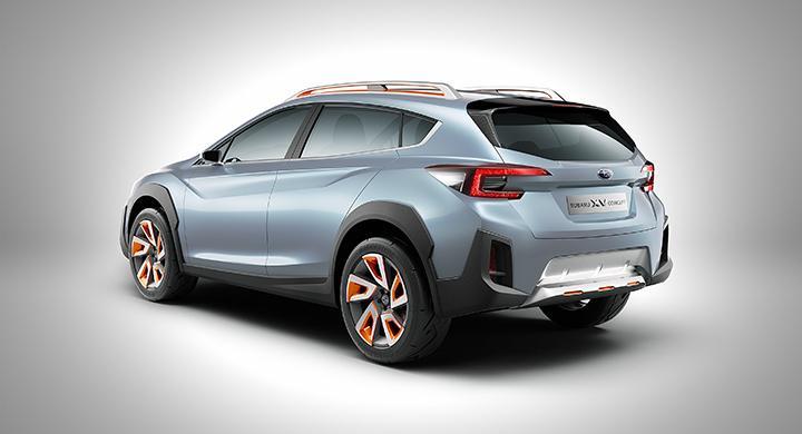 Subaru XV Concept.