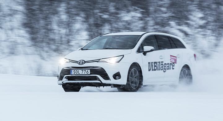 Toyota Avensis hamnade på femte plats i 2016 års vinterbilstest av långteststallet.