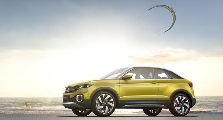 Konceptet Volkswagen T-Cross Breeze.