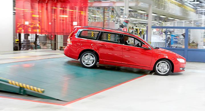 I måndags slutade Torslandafabriken tillverka V70.
