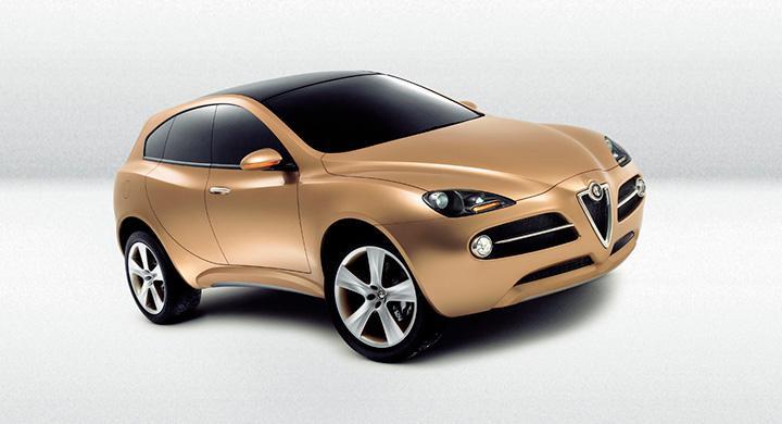 Alfa Romeo Kamal i konceptform från 2003.