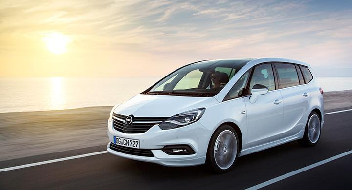 Opel Zafira 2017.