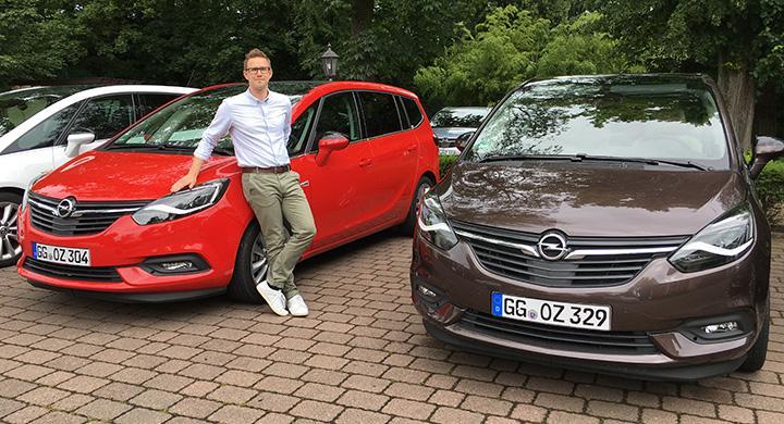Opel Zafira är en biltyp som faller Vi Bilägares reporter Nils Svärd i smaken.