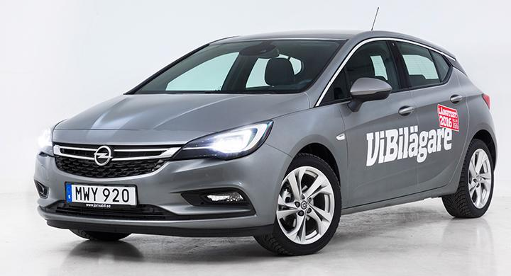 Sommartest: Opel Astra