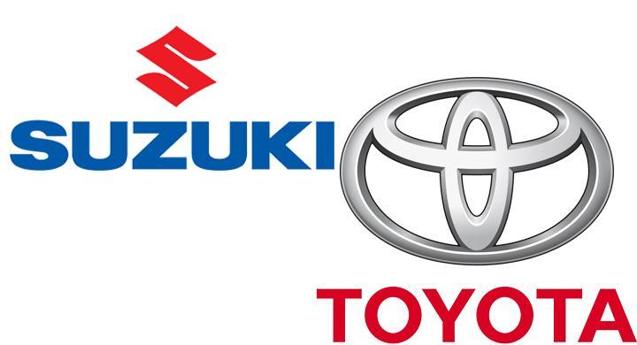 Suzuki och Toyota i samarbete