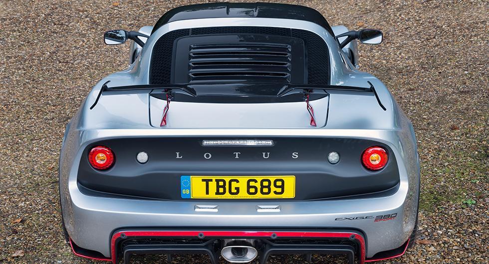Lotus Exige Sport 380 – snabbare och lättare
