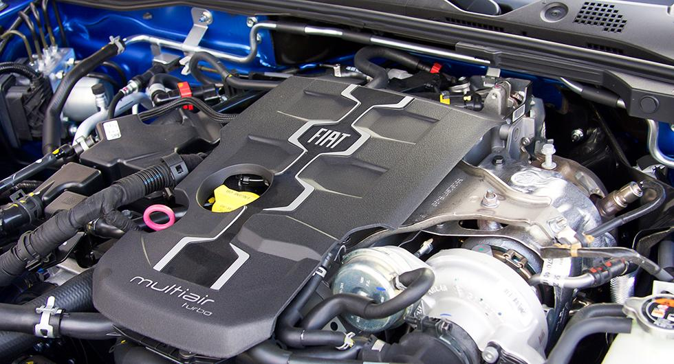 Fiatmaskinen med turbo och 1,4 liters volym ger speciell karaktär.