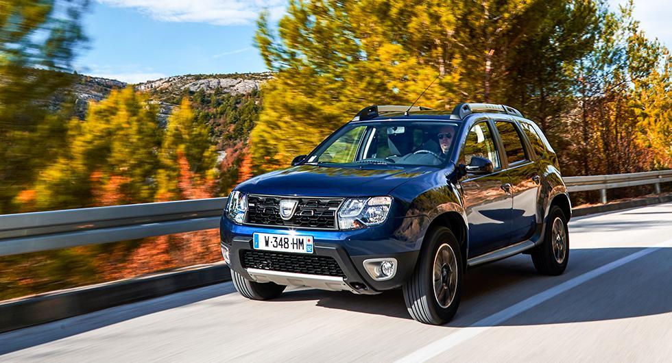 Dacia Duster ser i alla fall ut som en tuff liten suv, även om den är framhjulsdriven med automatlåda.