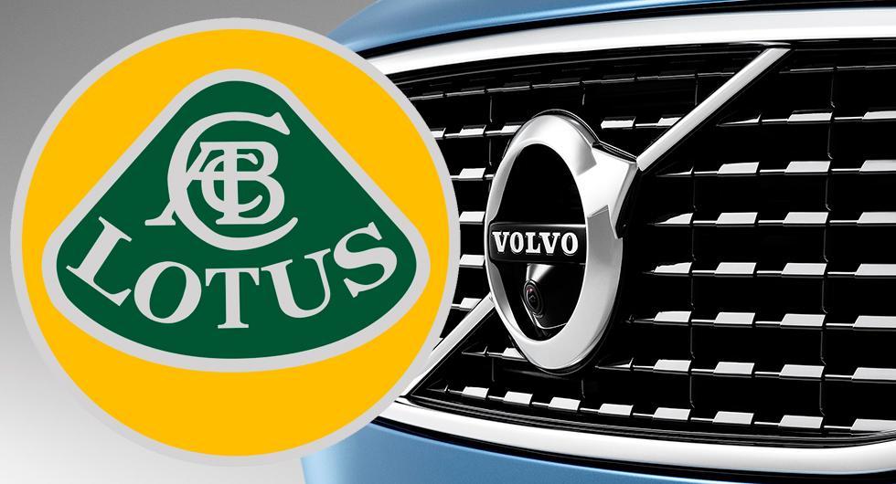 Lotus bildar familj med Volvo?