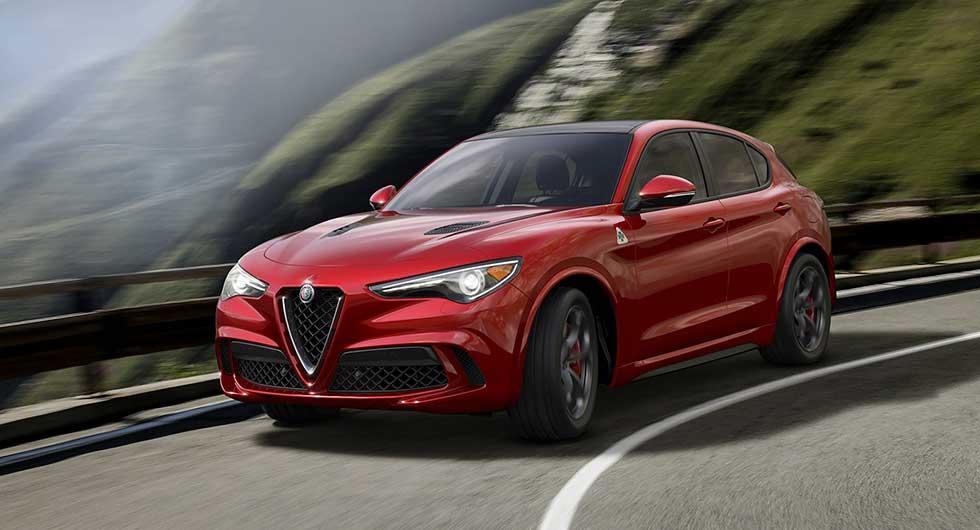 …Alfa Romeos nya suv Stelvio.