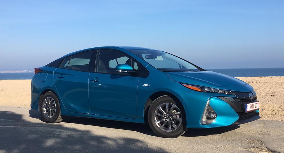 Hybridsystemet är på hugget i nya Toyota Prius Plug-In Hybrid.
