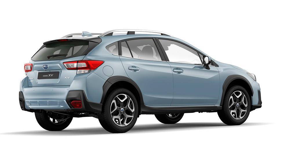 Ny grund och ny designfilosofi på Subaru XV.