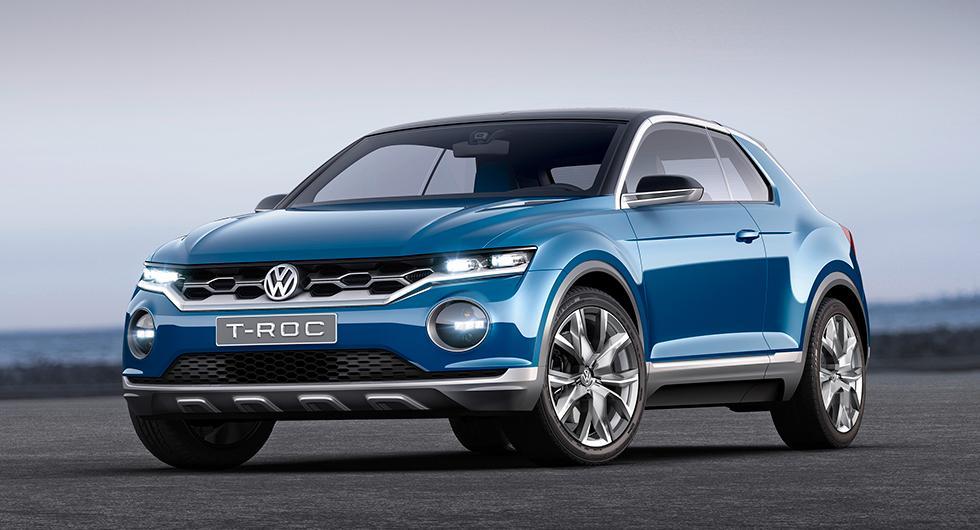 Volkswagen T-Roc som koncept 2014.