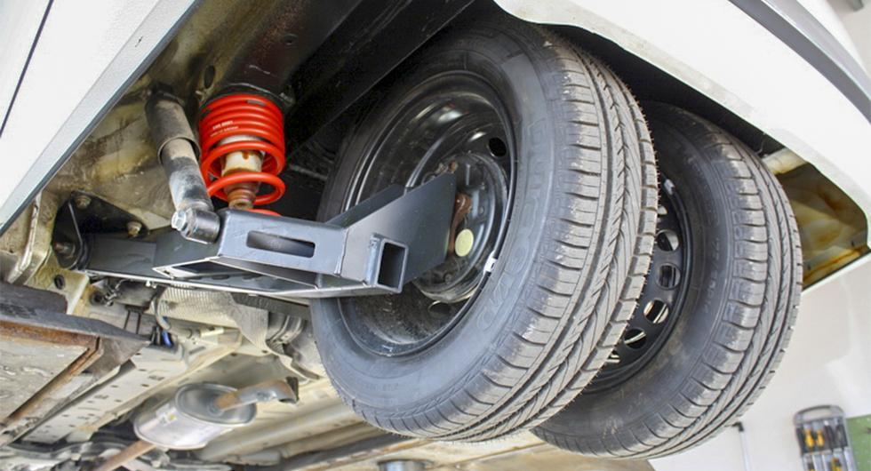 """Bygga om bilen till """"trehjuling""""?"""