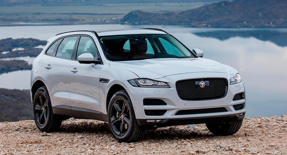Årets bil globalt 2017 heter Jaguar F-Pace.