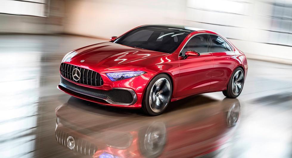 Mercedes Concept A Sedan.