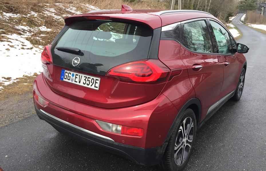 Opel Ampera-e – rapport från provkörningen