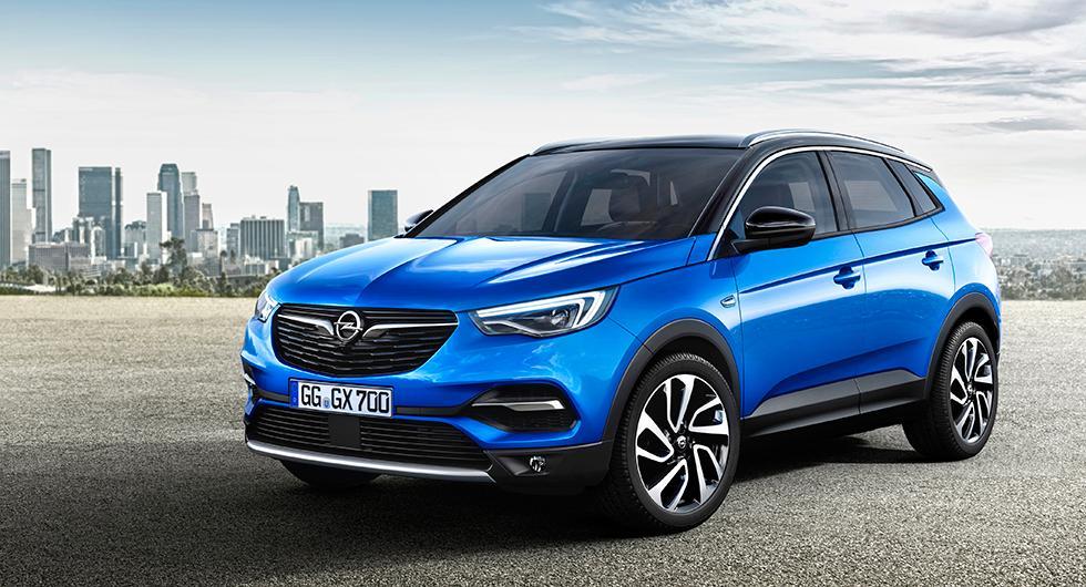 Här är Opel Grandland X
