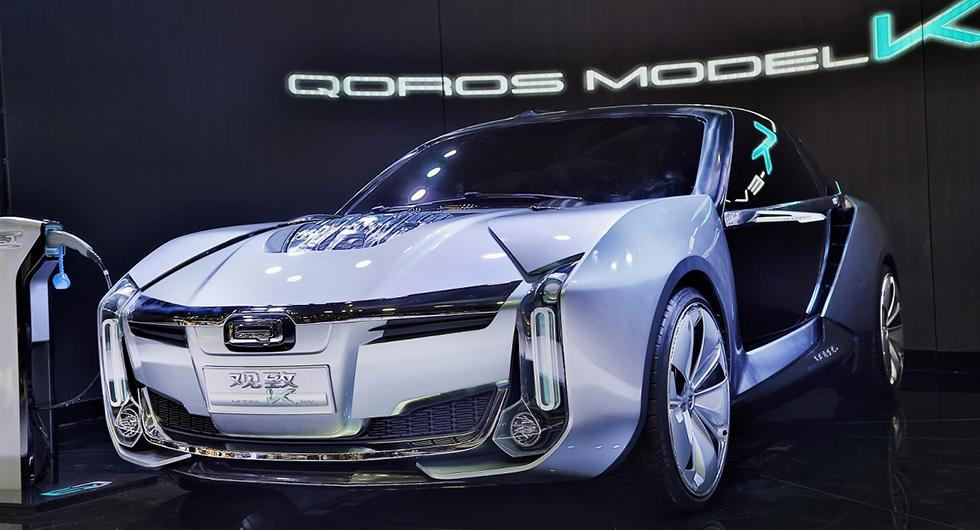 Qoros K-EV med Koenigsegg-teknik