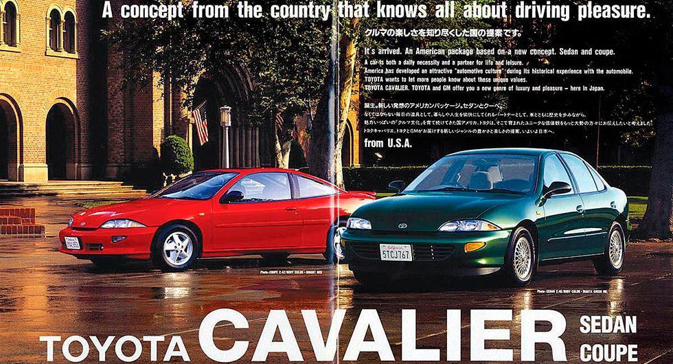 När Chevrolet blev Toyota…
