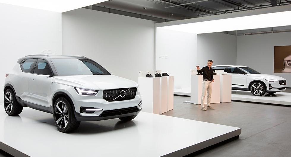 Volvo visade för en tid sedan upp koncepten 40.1 och 40.2, som pekar på designriktningen för kommande Volvomodeller. Kanske blir den eldrivna småvolvon något liknande?