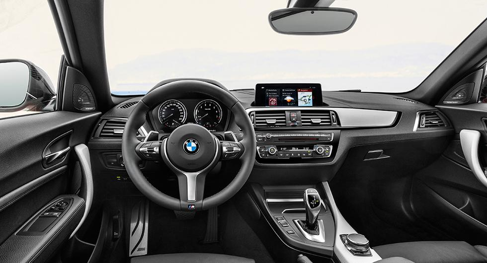 BMW 2-serie diskret lyft