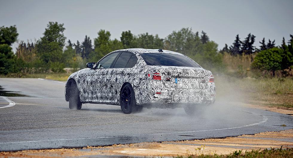BMW M5 blir fyrhjulsdriven