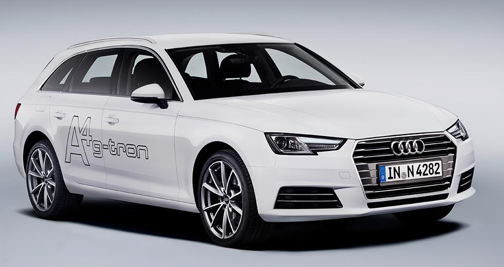 Provkörning: Audi A4 Avant g-tron (2017)