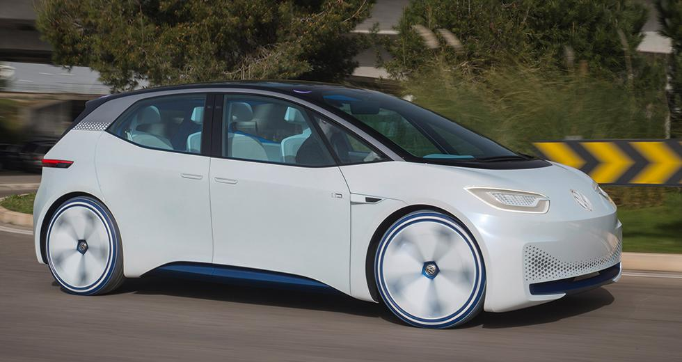 Volkswagen tar sats mot Tesla