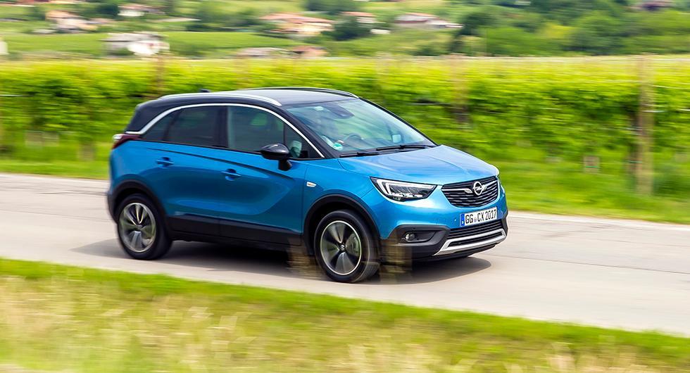 Provkörning: Opel Crossland X (2017)