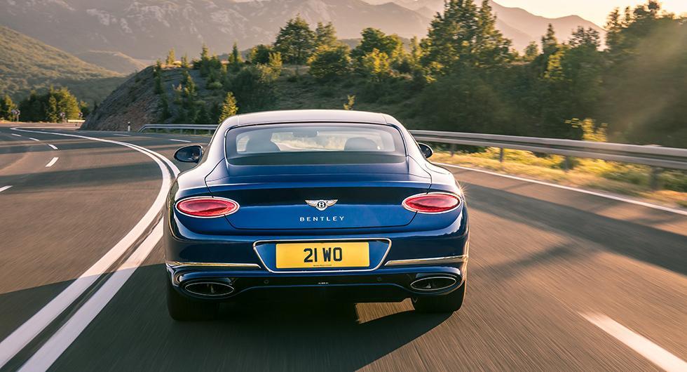 Här är nya Bentley Continental GT
