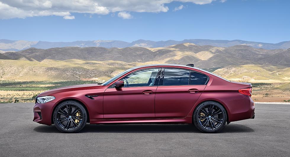 Här är den bayerska besten BMW M5