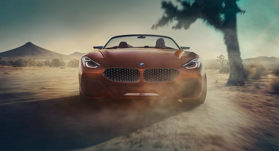 BMW:s nästa Z4 som koncept