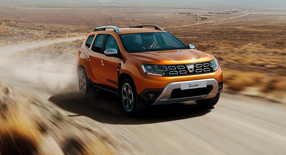 Dacia förnyar Duster