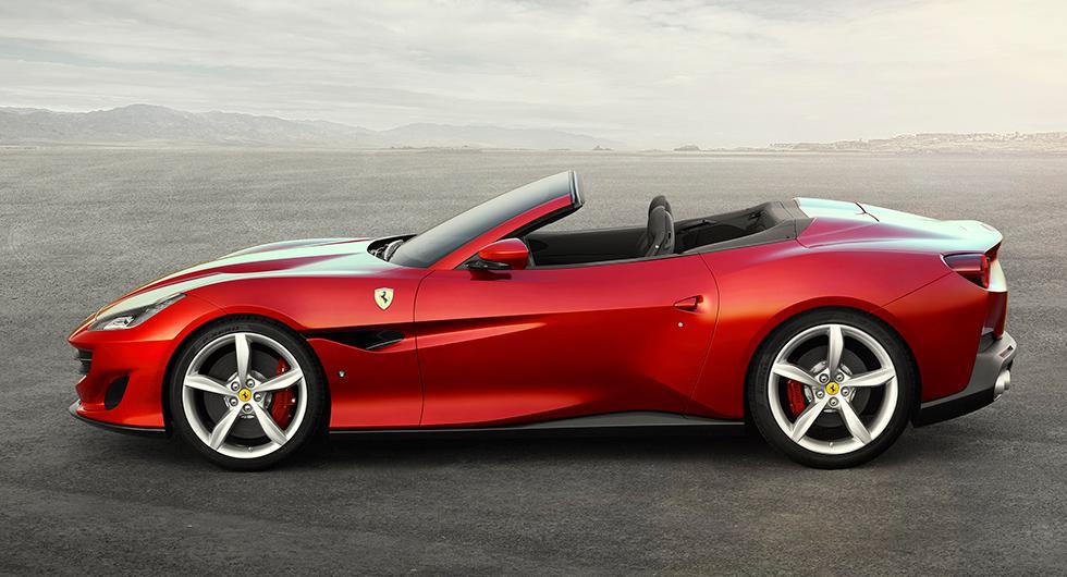 Portofino är Ferraris nya cabriolet
