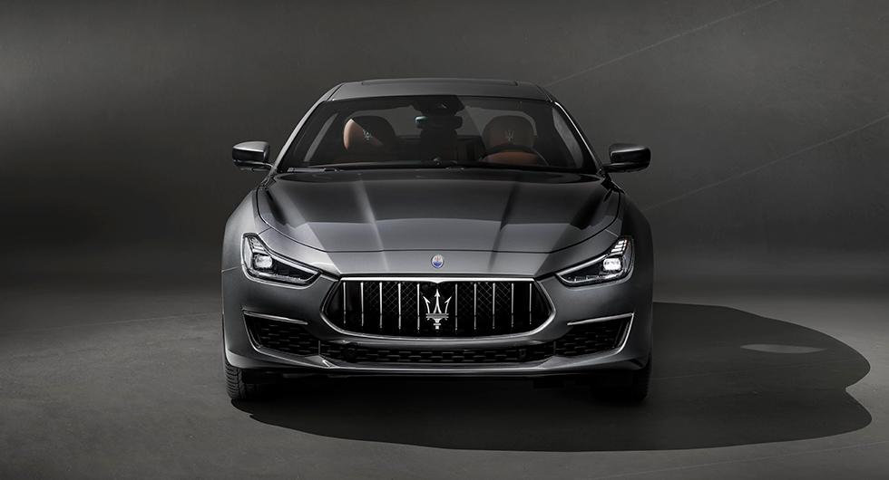 Maserati finputsar Ghibli